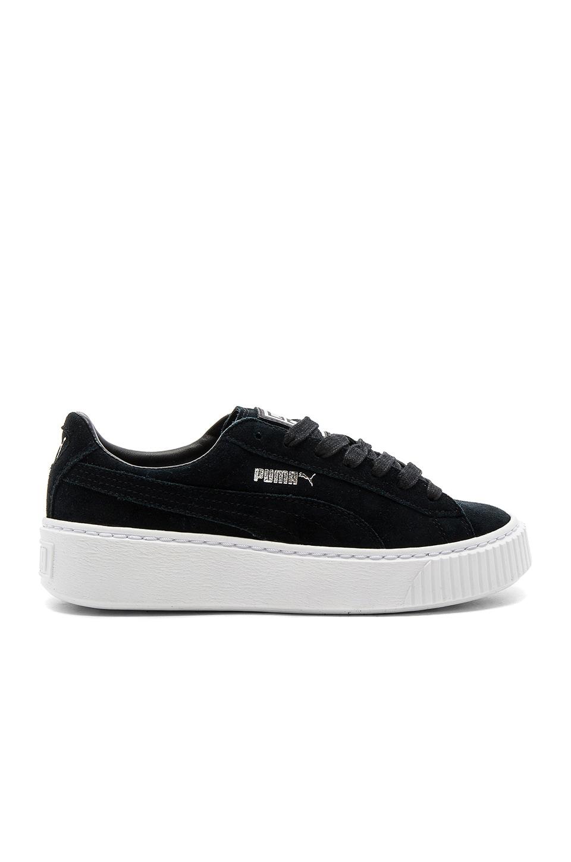 Puma Creeper Core Sneaker in Puma Black & Puma White