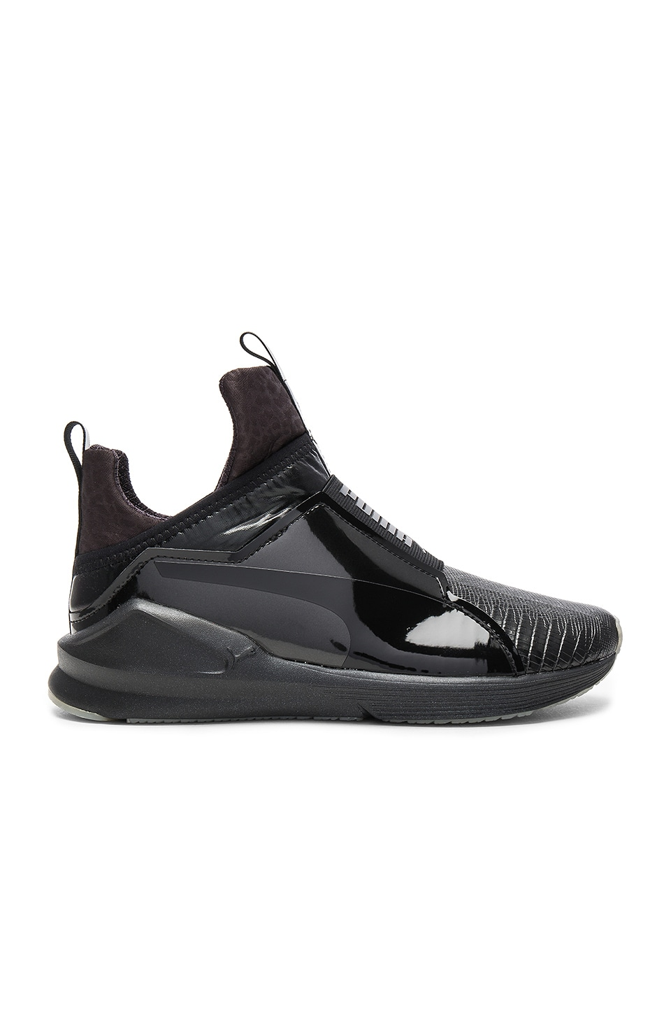 Puma Fierce Metallic Sneaker in Puma Black