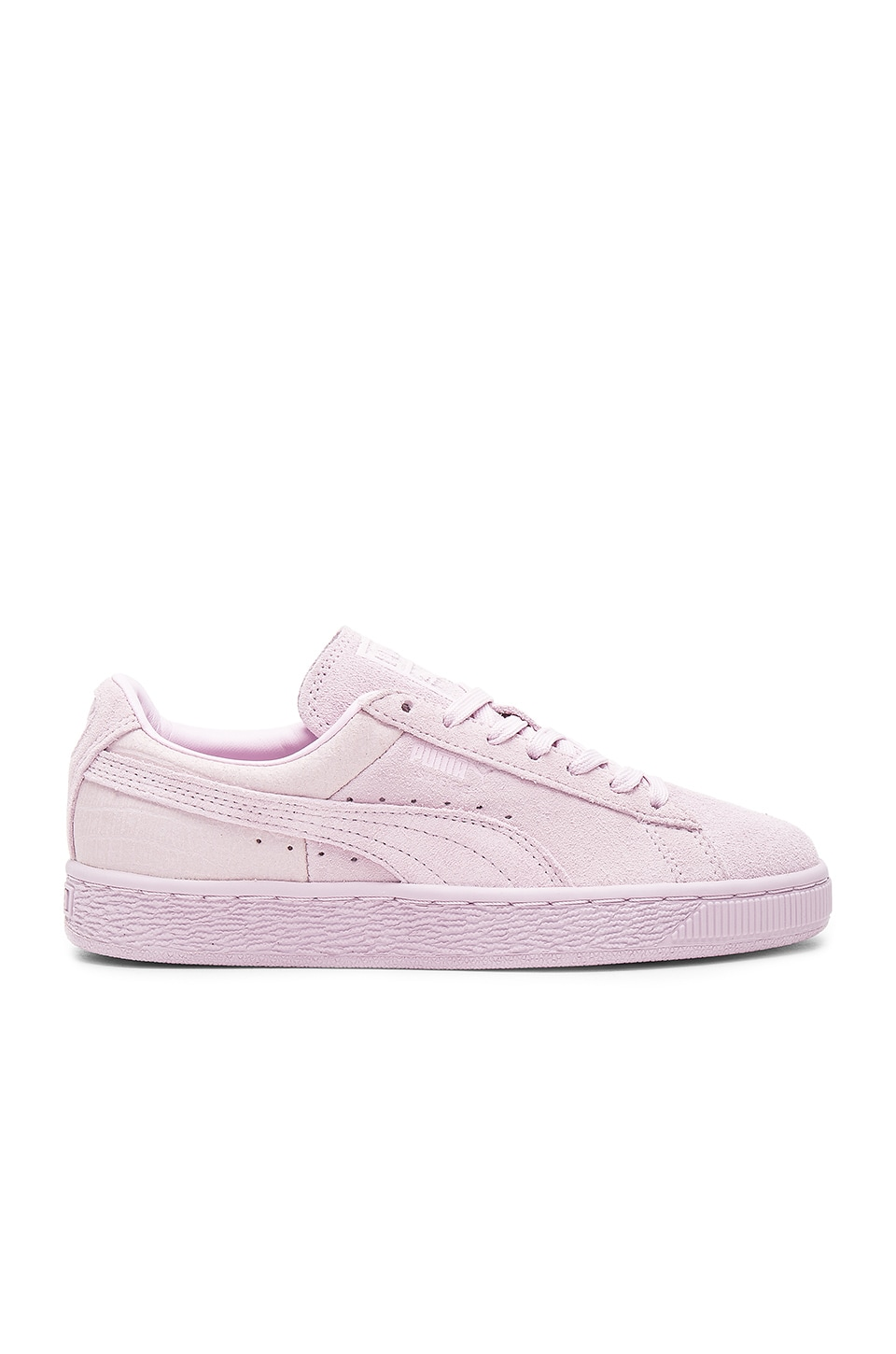 Puma Classic Emboss Sneaker in Lilac Snow