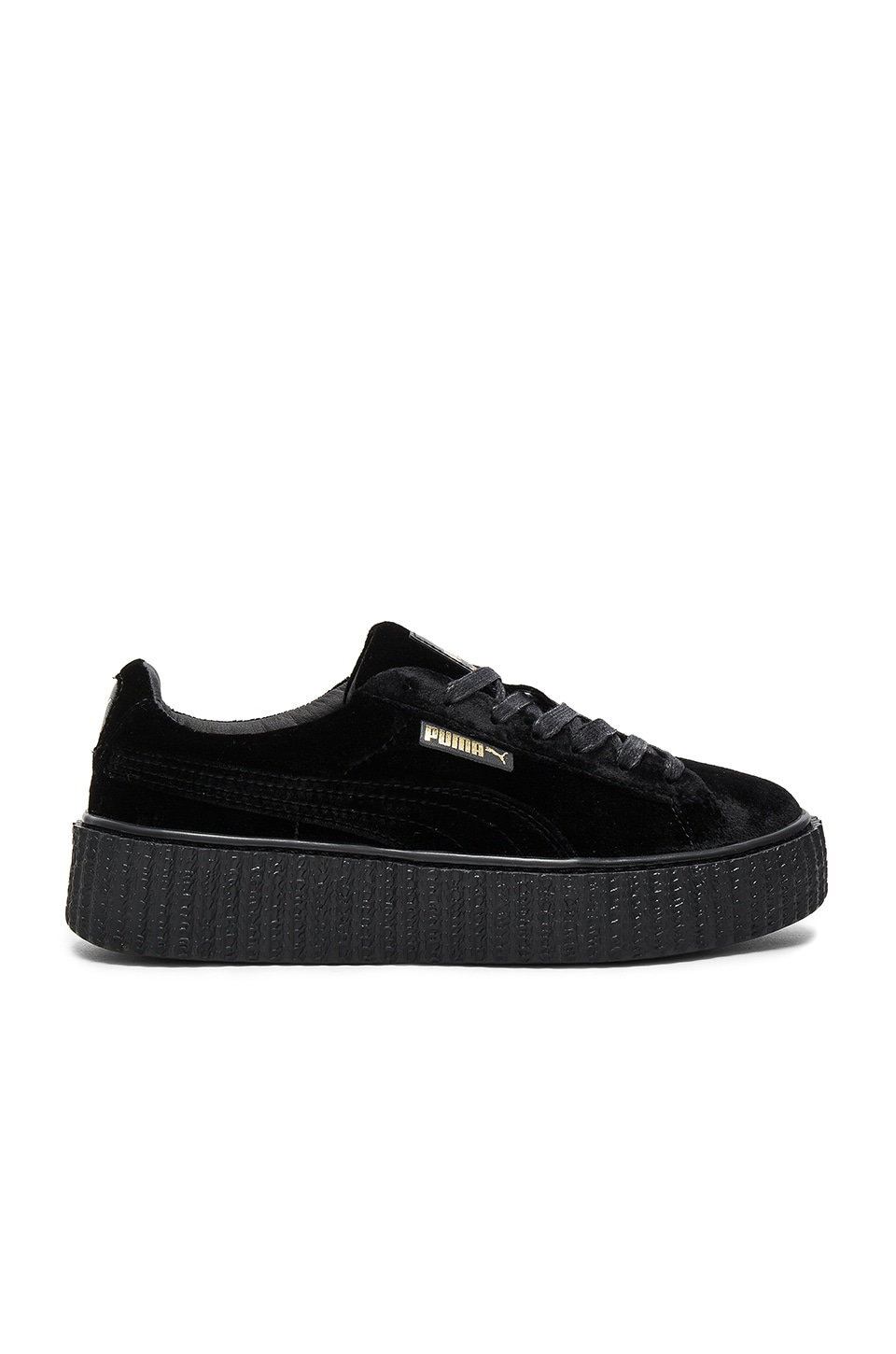 detailed pictures 70786 6bb44 Puma x Rihanna Velvet Creeper in Puma Black | REVOLVE