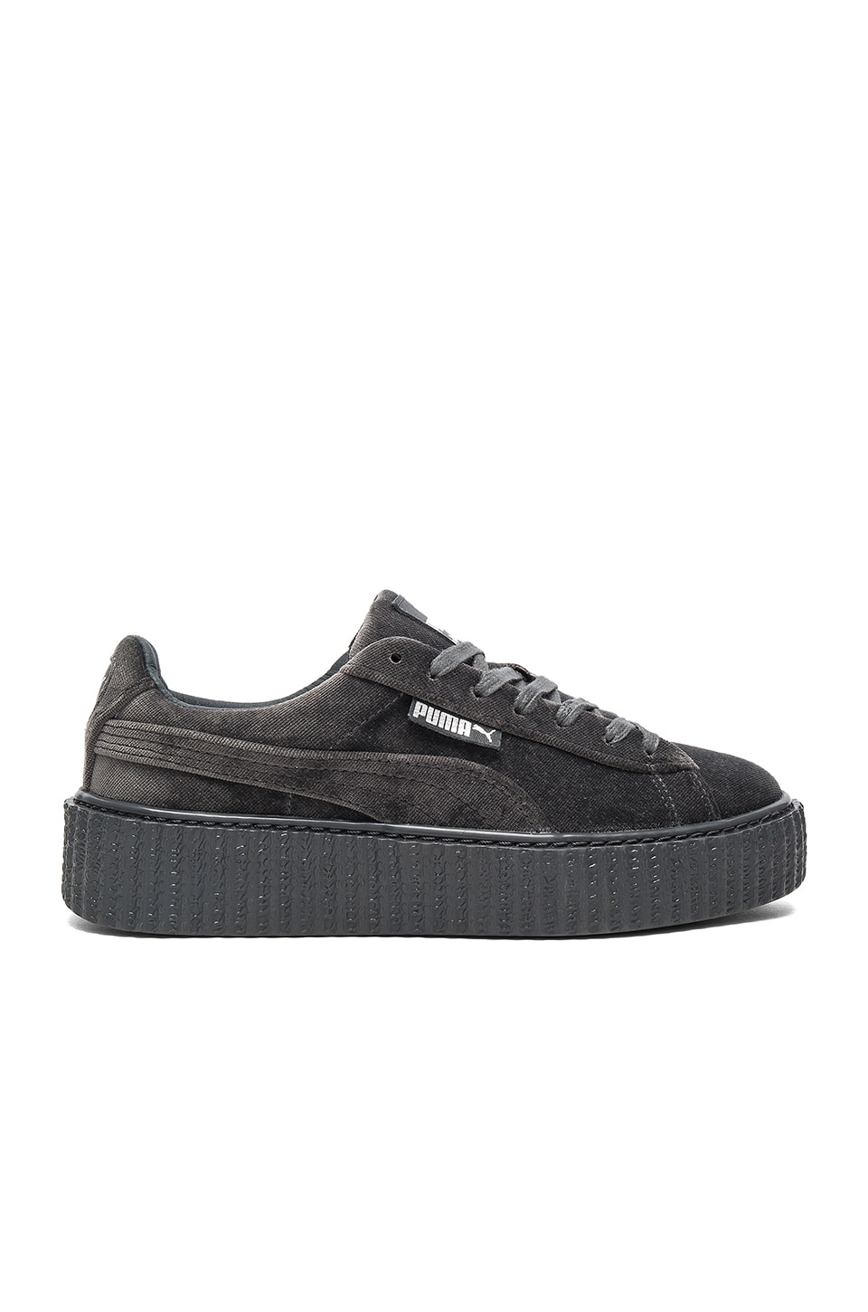 Puma x Rihanna Velvet Creeper in Glacier Gray