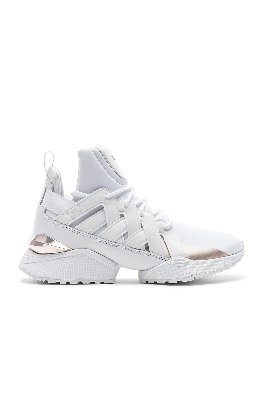 Puma Duel Rise Sneaker in Puma White