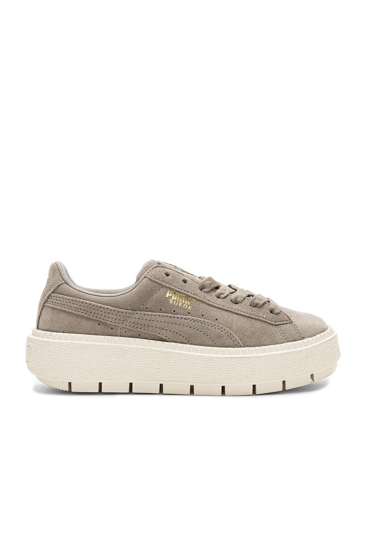 Suede Platform Trace Sneaker by Puma