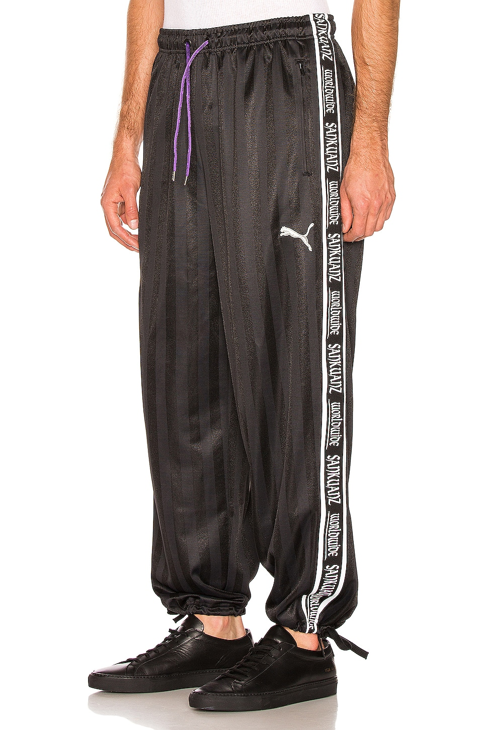Puma Select X SANKUANZ Track Pants in Black