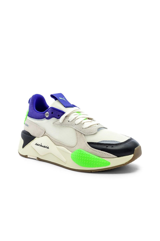Puma Select X SANKUANZ Sneaker in Cloud Cream & Royal Blue