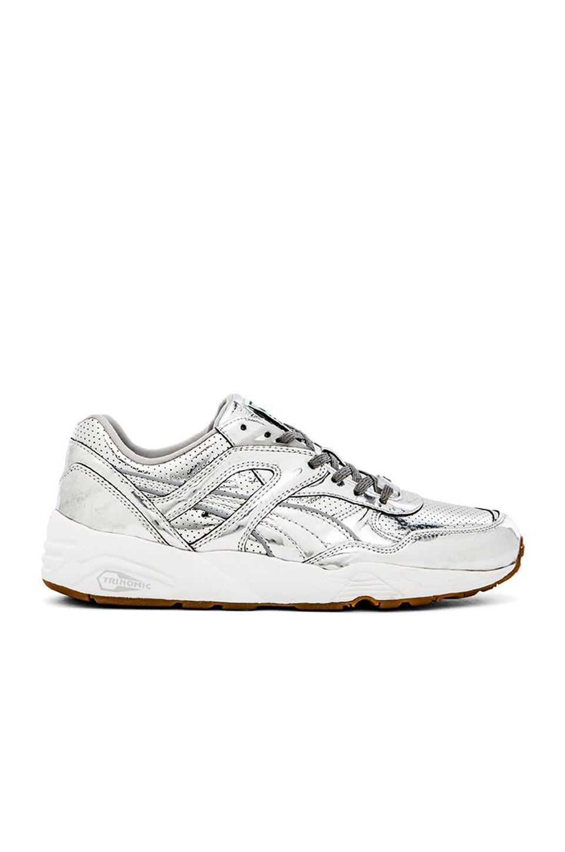 Puma Select x ALIFE R698 Trinomic in Puma Silver White