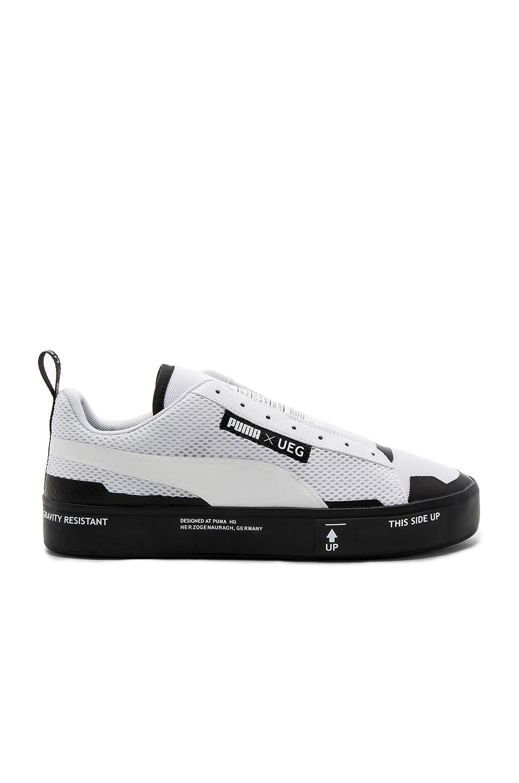 Puma x UEG Court Play Slip on Black White | COUTIÉ