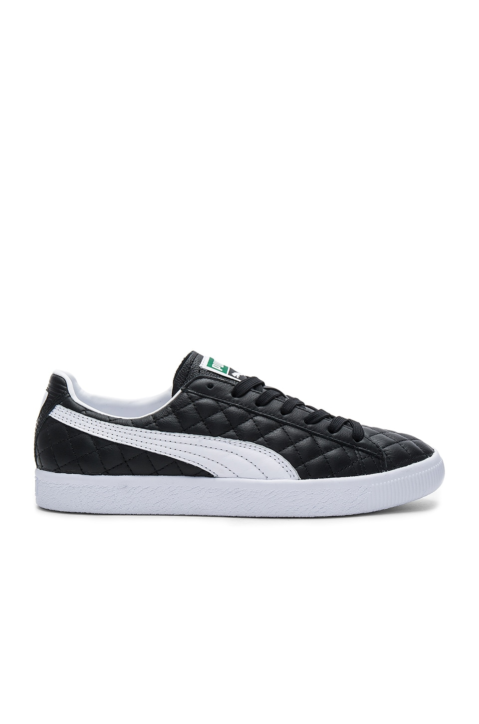Clyde Dressed Part Deux FM in Puma Black & Puma White by Puma Select