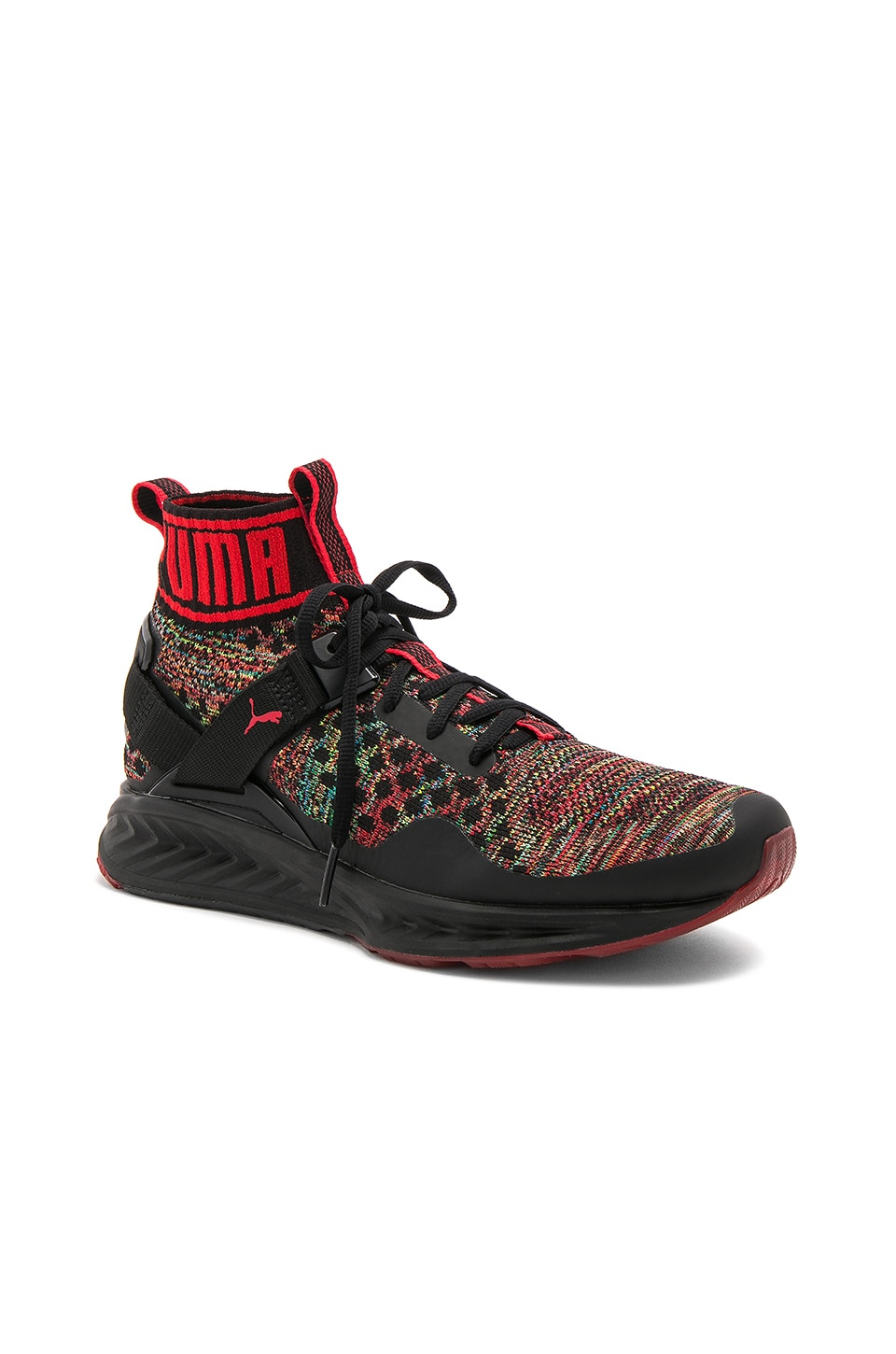 new product 51686 c0771 Puma Select Ignite Evoknit Multicolor in Puma Black & High ...