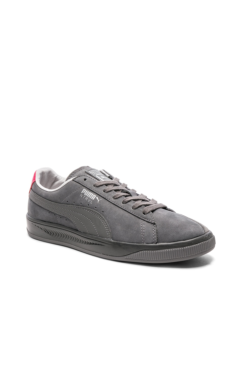 online store 23b13 55ffd Puma Select x Staple Suede Ignite in Smoked Pearl & Puma ...