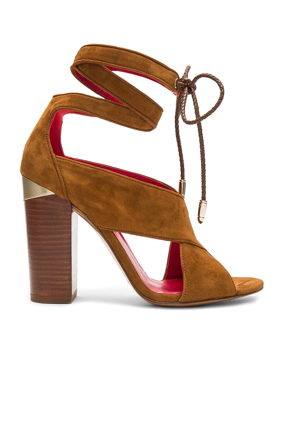 Ankle Wrap Heel by Pura Lopez
