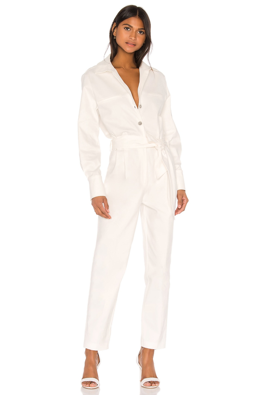 Piece of White Ewa Jumpsuit in White