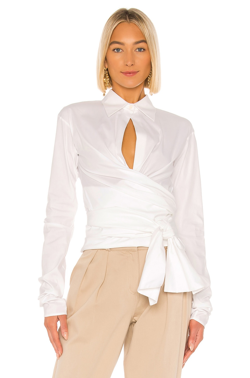 Piece of White Kathleen Blouse in White