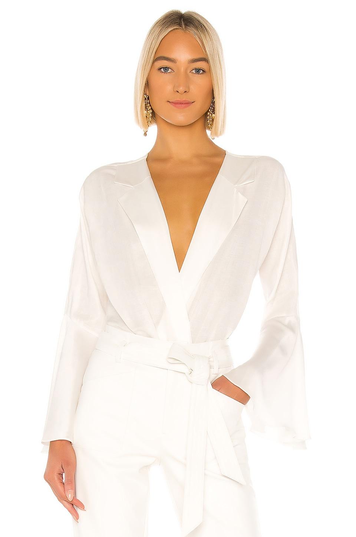 Piece of White Isabella Bodysuit in Ecru