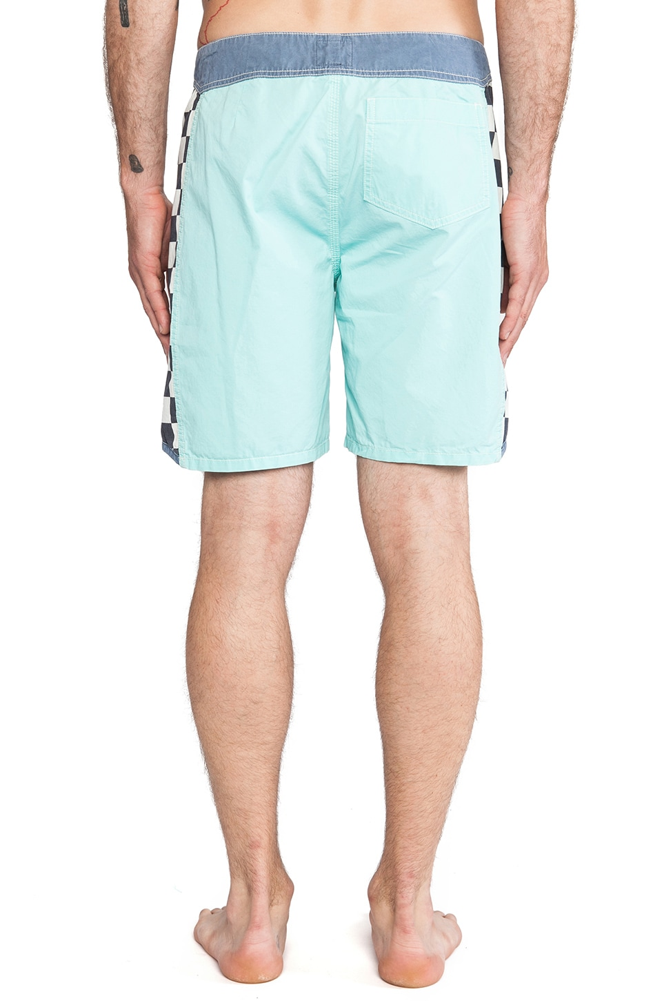 "Quiksilver Originals Arch 18"" Boardshort in Green Tea"