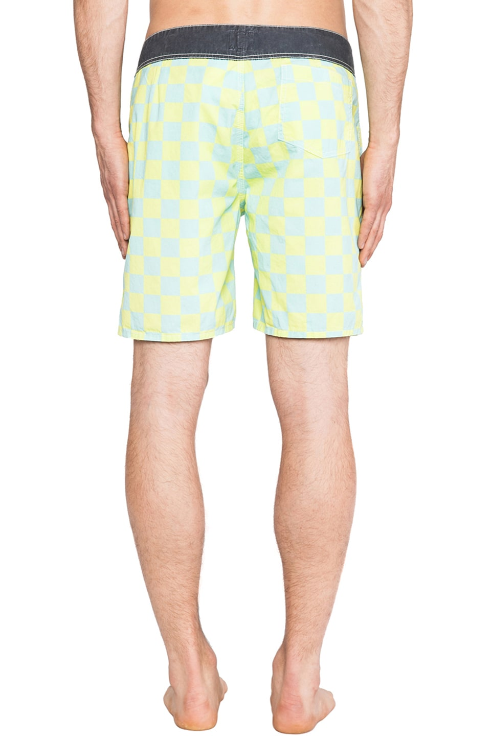 "Quiksilver Originals Yoke 18"" Boardshort in Green Tea"