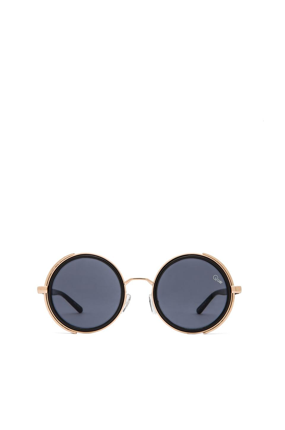 Quay Freya Sunglasses in Black