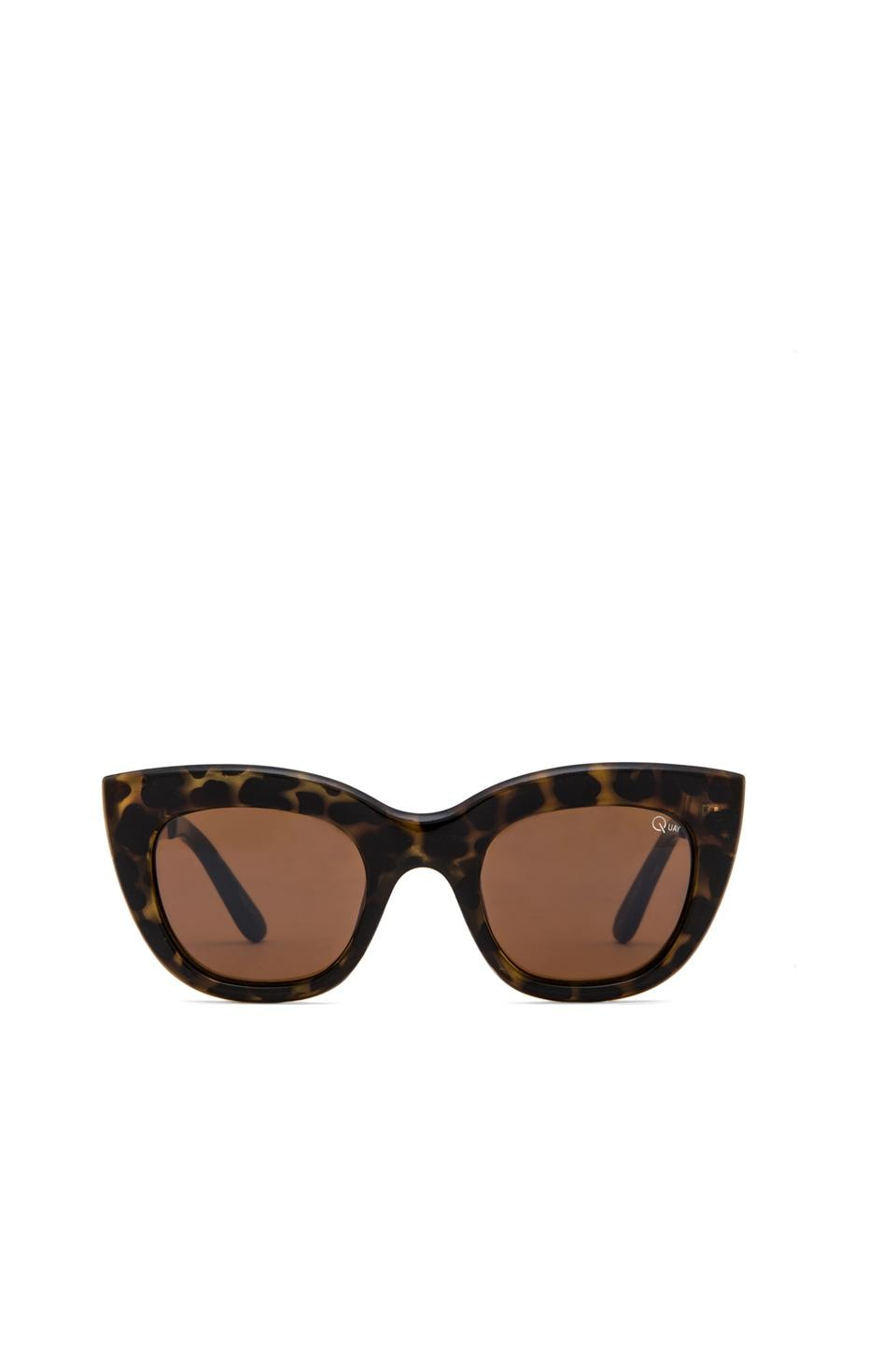 Quay Billy Sunglasses in Leopard