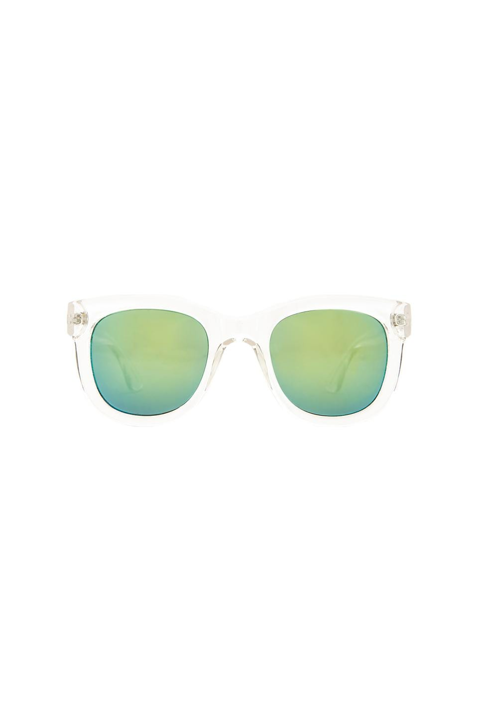 Quay Thegoto Sunglasses in Clear