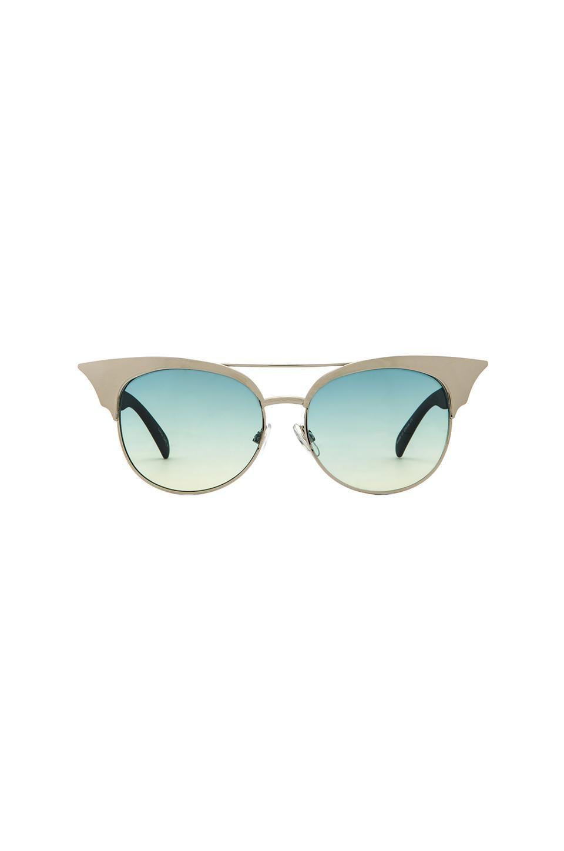 Quay Zig Sunglasses in Silver