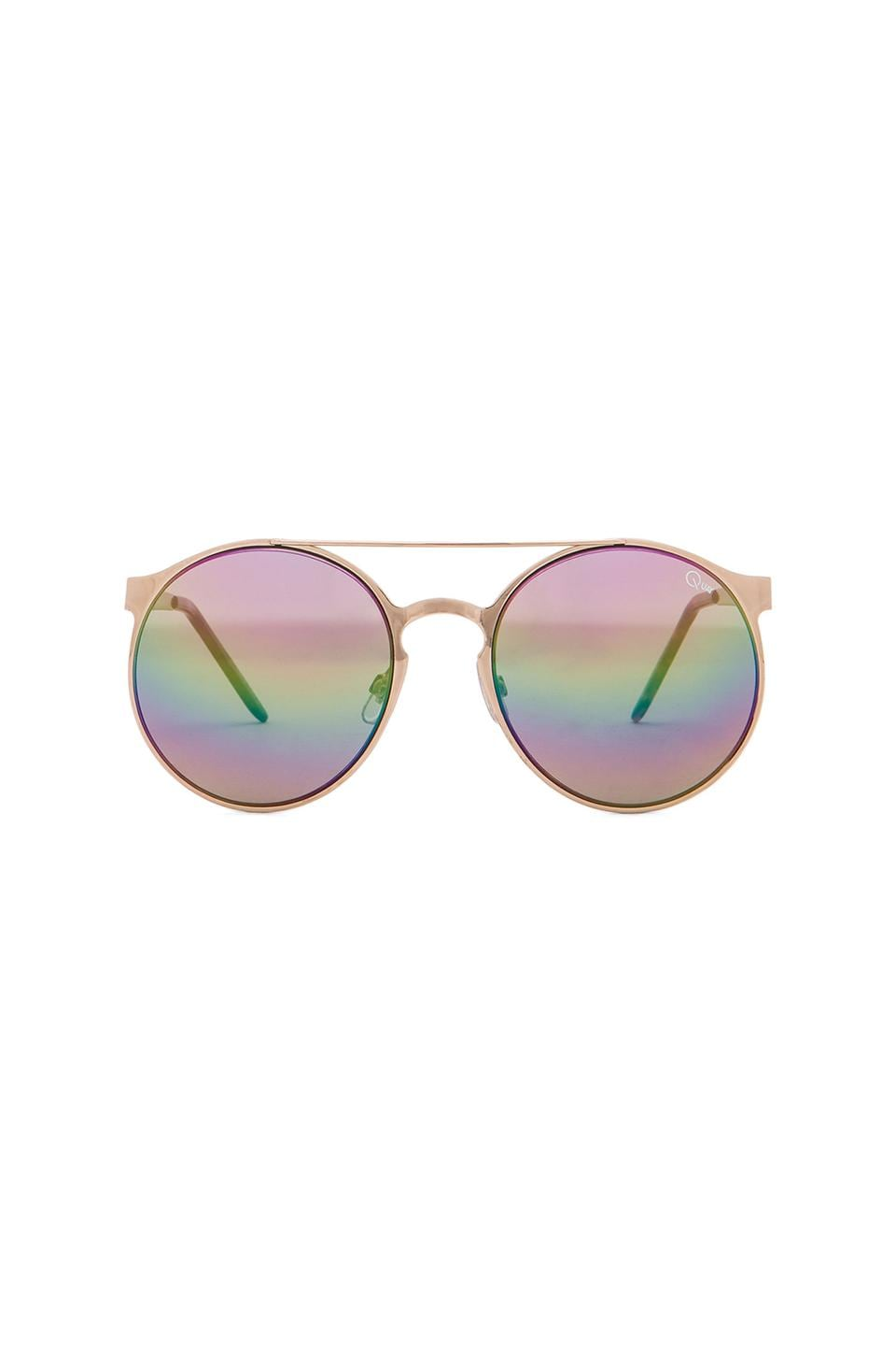 Quay Neverland Sunglasses in Gold