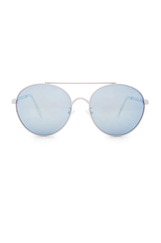 Quay Circus Life Sunglasses in Silver