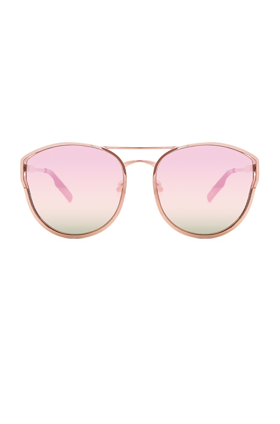 Quay Cherry Bomb Sunglasses in Rose Gold