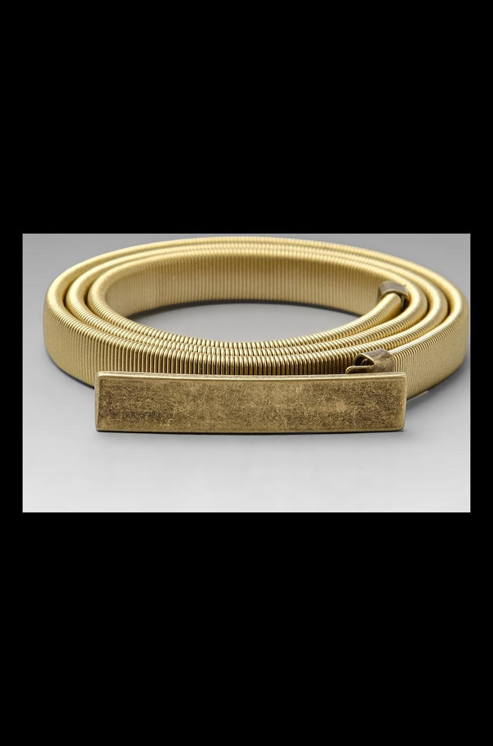 Rachel Pally Metal Belt in Brass