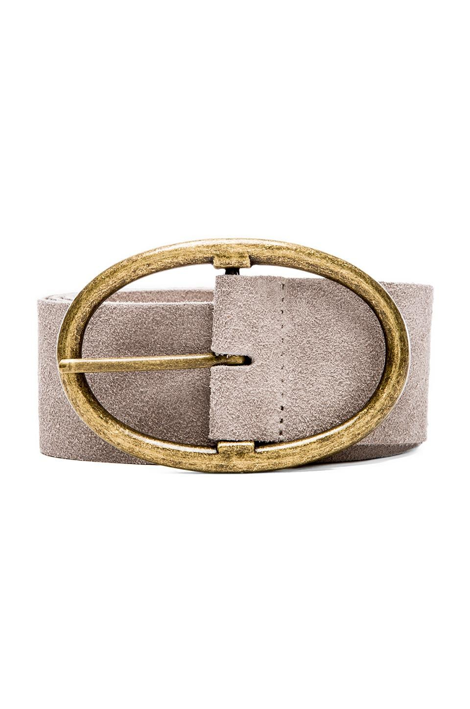 Rachel Pally Suede Belt in Brown