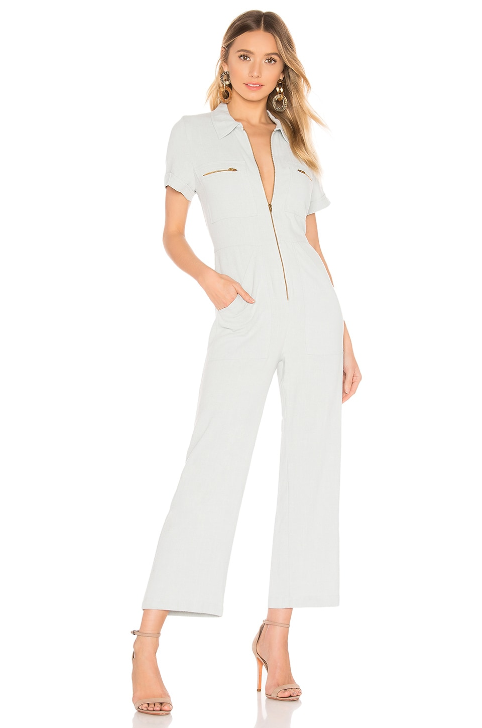 Rachel Pally Rocco Jumpsuit in Bluebell