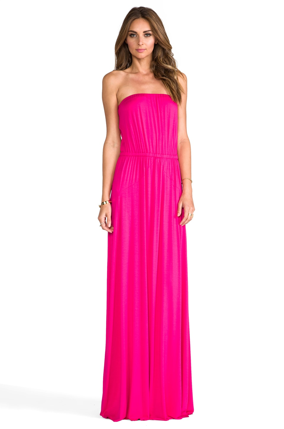 Rachel Pally Clea Dress in Cerise