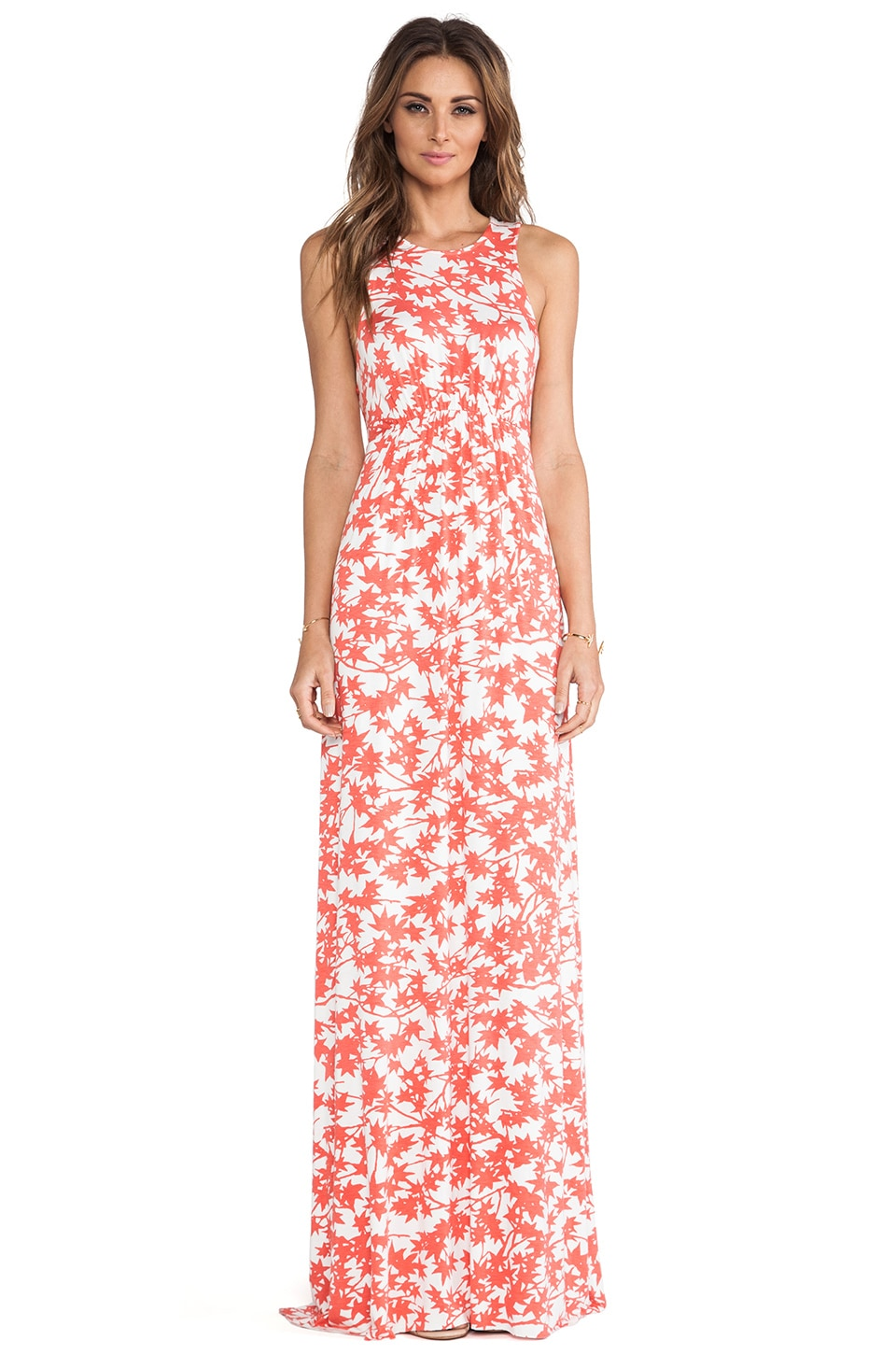 Rachel Pally Phillipa Printed Dress in Persimmon Maple
