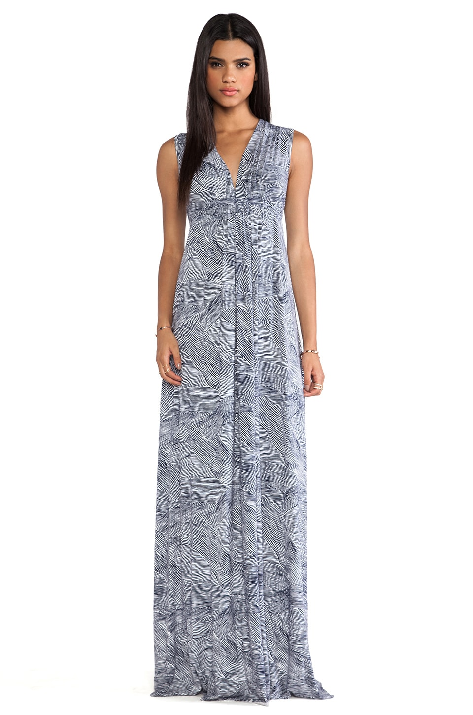 Rachel Pally Long Sleeveless Caftan Dress in Terra