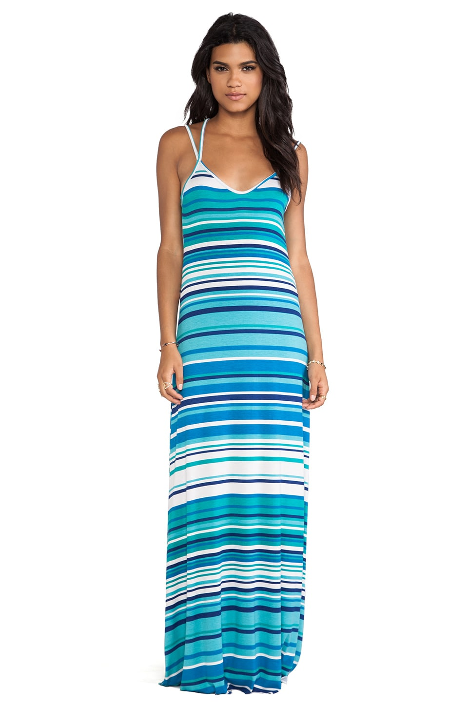 Rachel Pally Murphy Maxi Dress in Sea Stripe