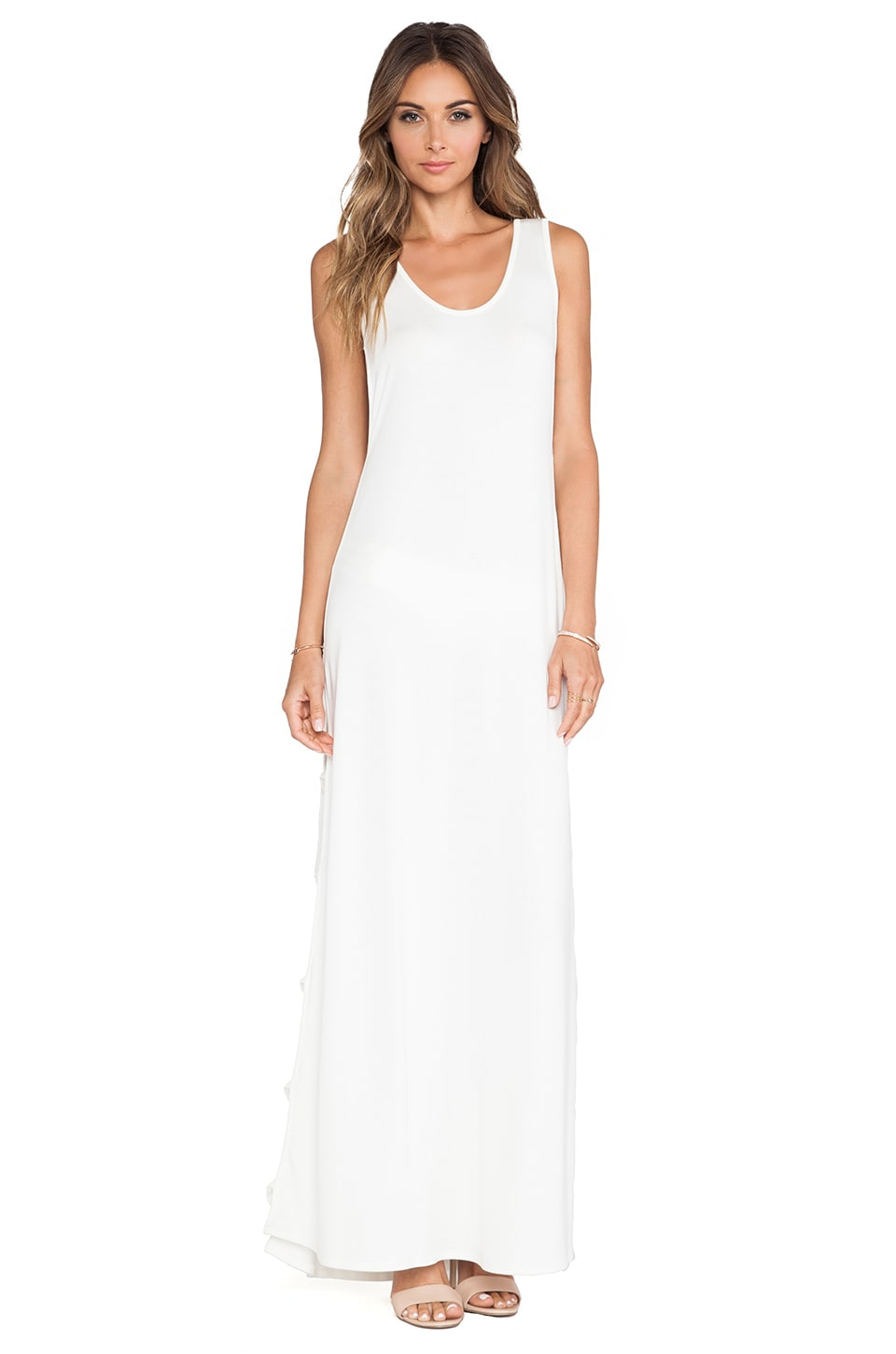 Rachel Pally Elodie Maxi Dress in White