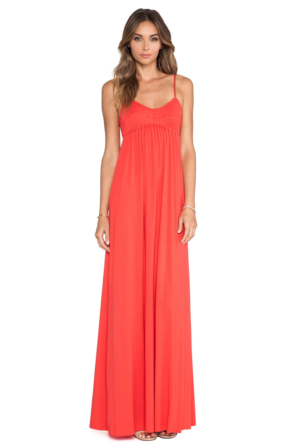 Rachel Pally Crane Maxi Dress in Pom Pom