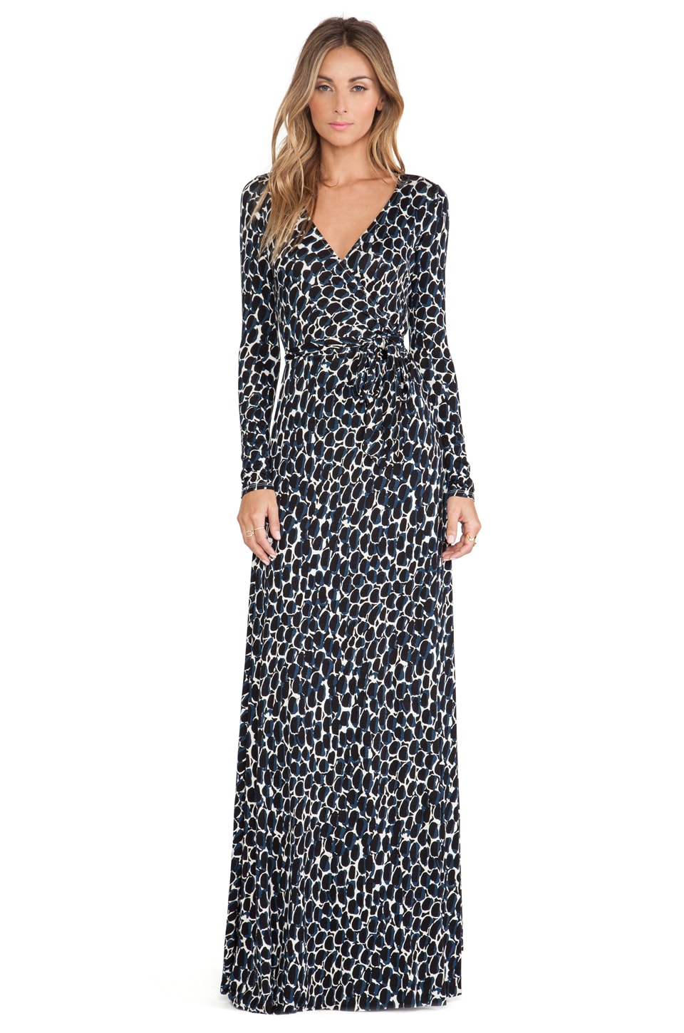 Rachel Pally Harlow Dress in Night Python