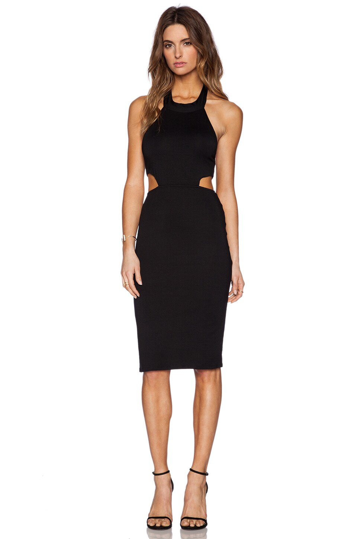 Rachel Pally x REVOLVE Cut Out Halter Midi Dress in Black