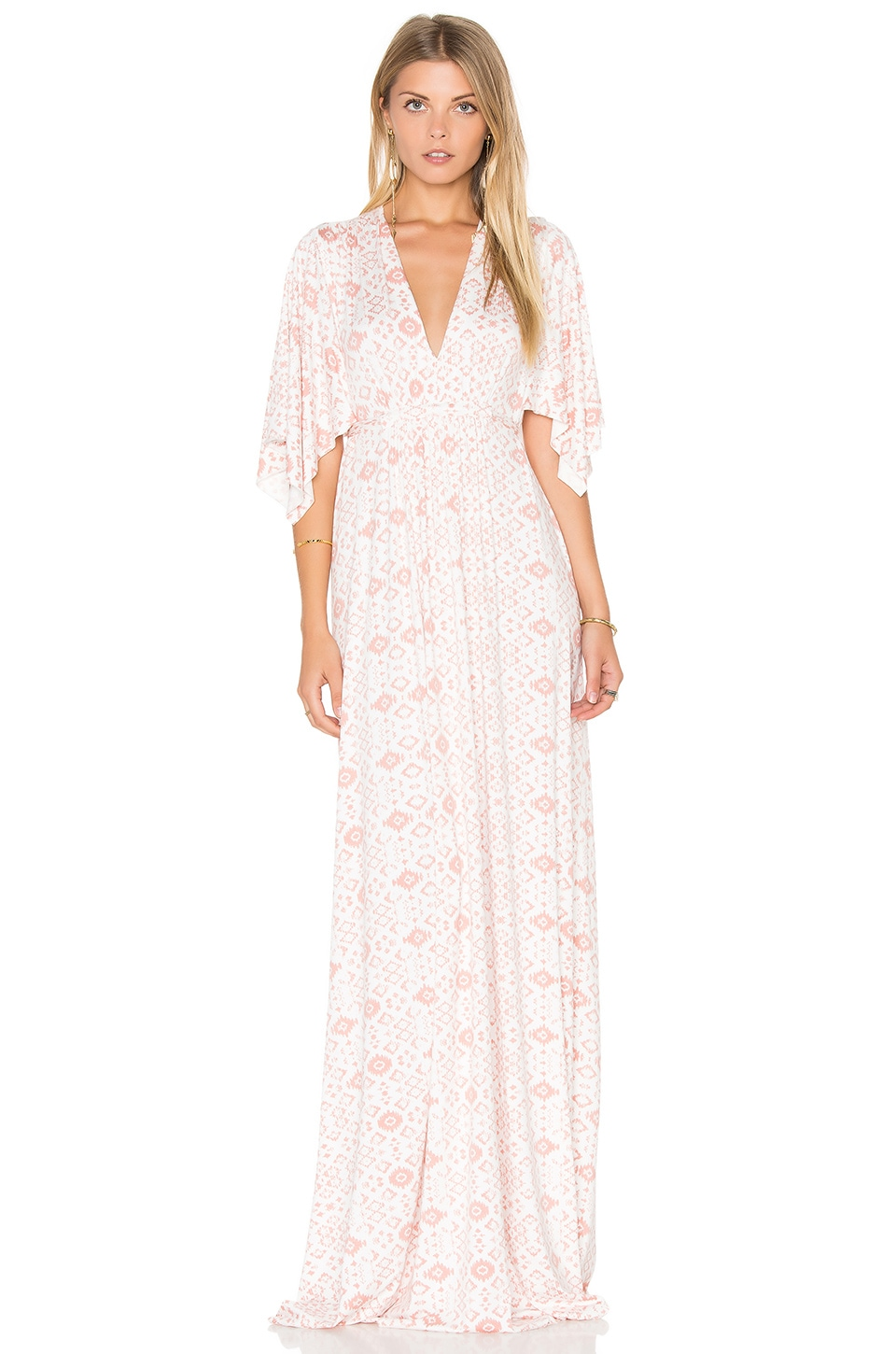 Rachel pally long caftan dress in dusty medallion revolve rachel pally long caftan dress in dusty medallion ombrellifo Image collections