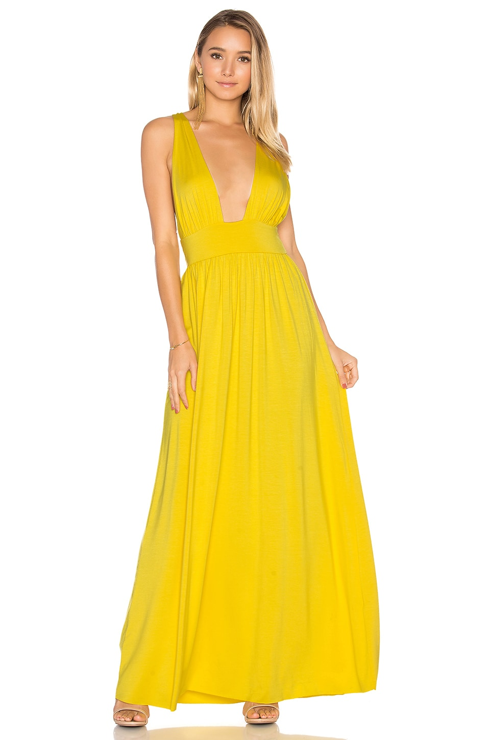Rachel Pally Dario Dress in Daffodil