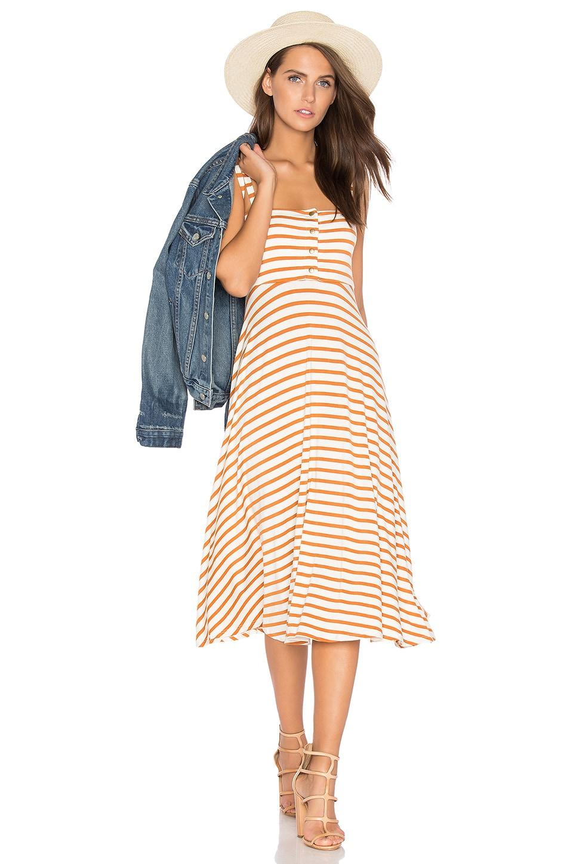 Rachel Pally Valery Dress in Flan Stripe