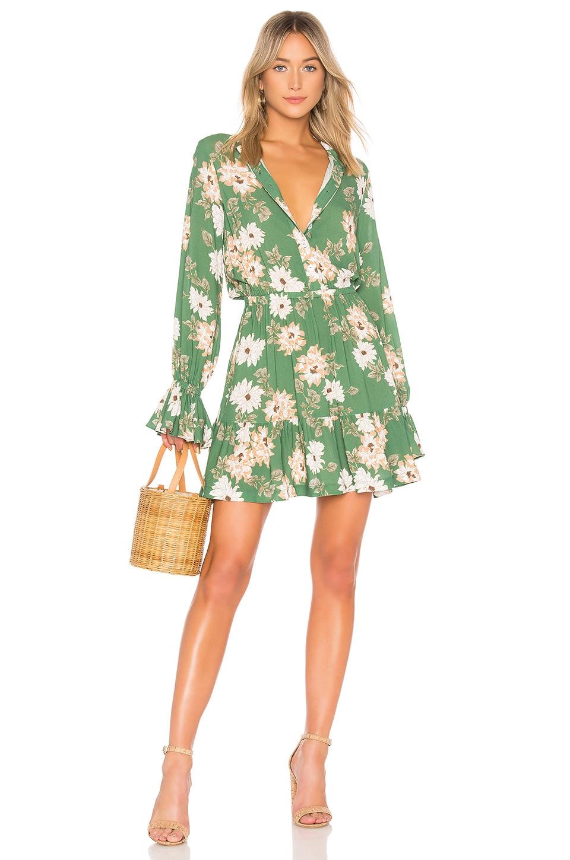 Rachel Pally Crepe Amaya Dress in Zinnia