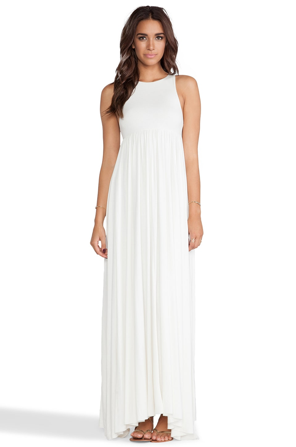 Rachel Pally Anya Tank Maxi Dress in White