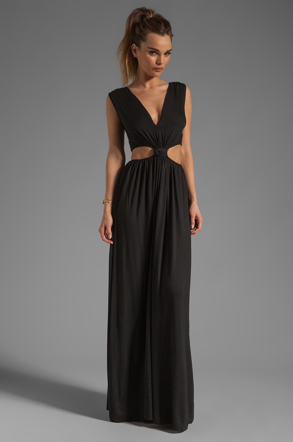 Strapless summer maxi dresses