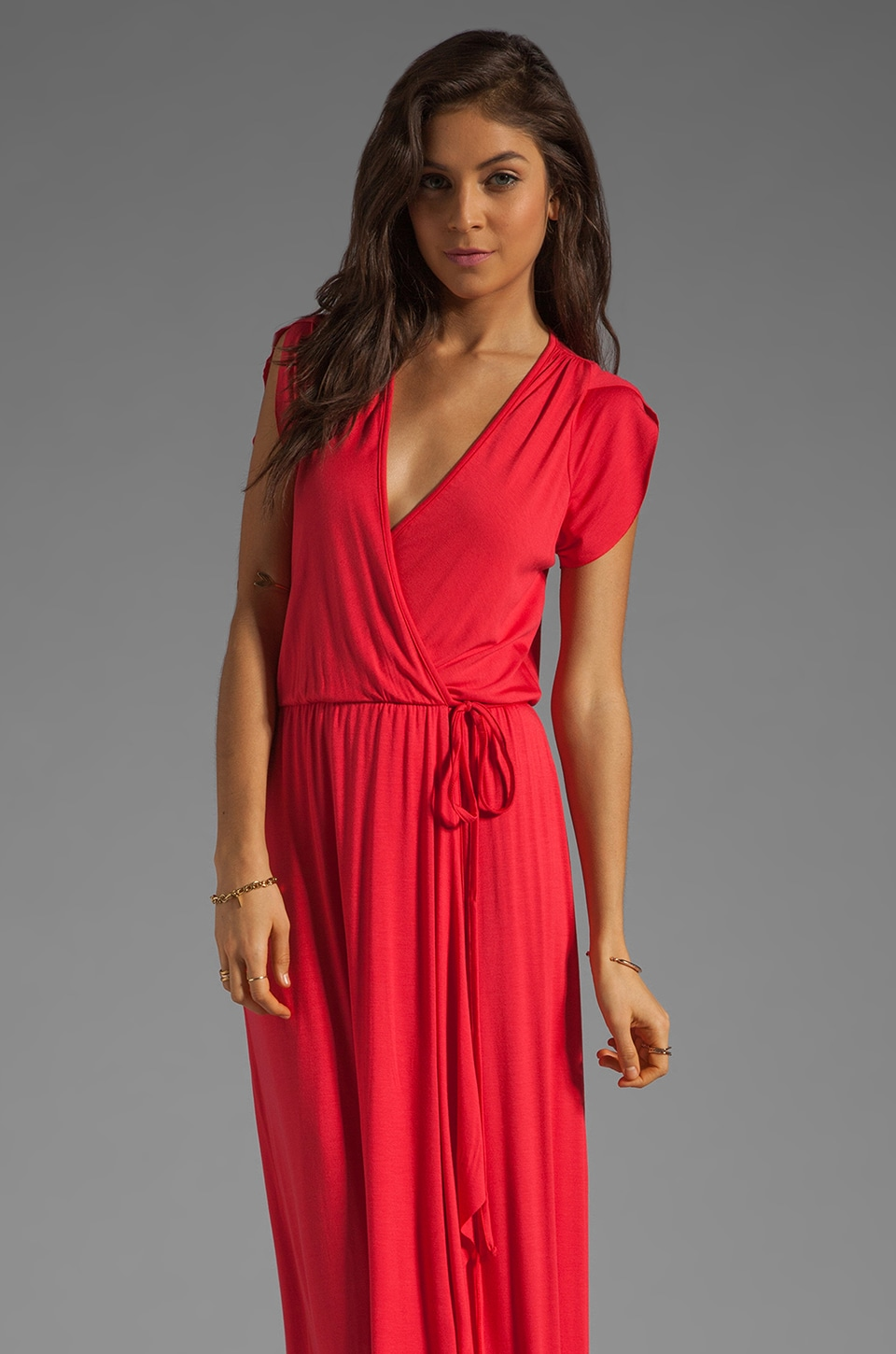 Rachel Pally Perpetua Wrap Dress in Granita