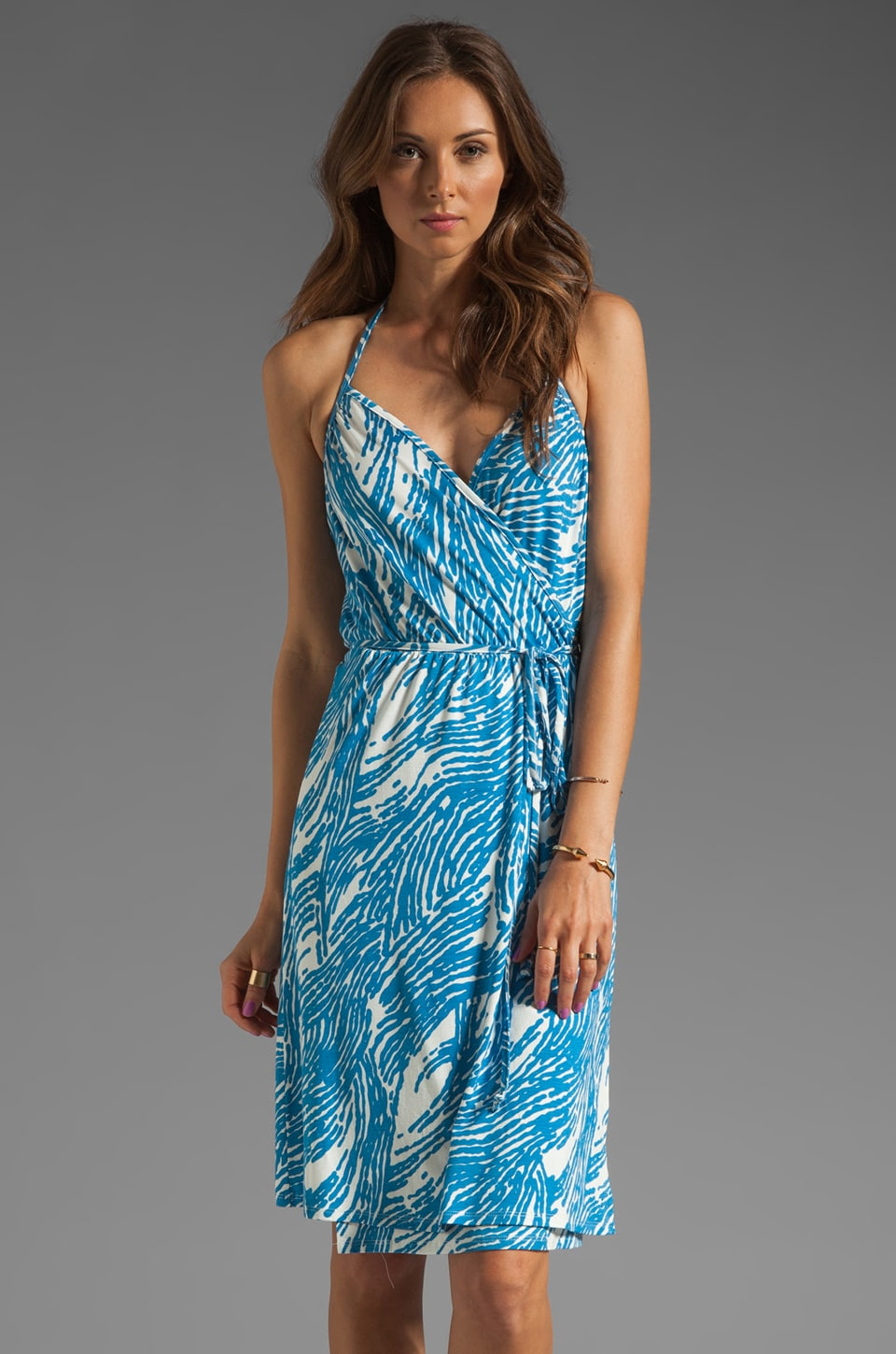 Rachel Pally Maco Halter Dress in Mykonos Current