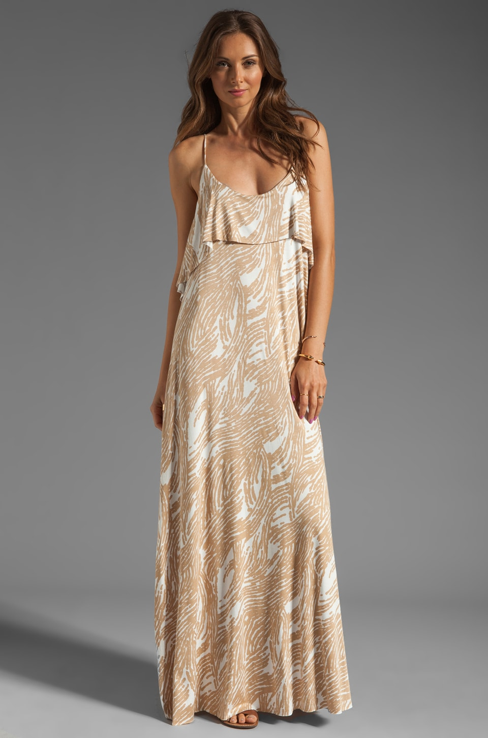 Rachel Pally Noomi Maxi Dress in Bamboo Current