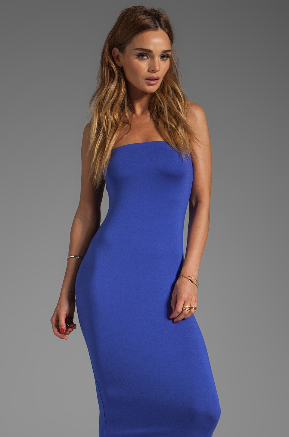 Rachel Pally Kris Strapless Dress in River