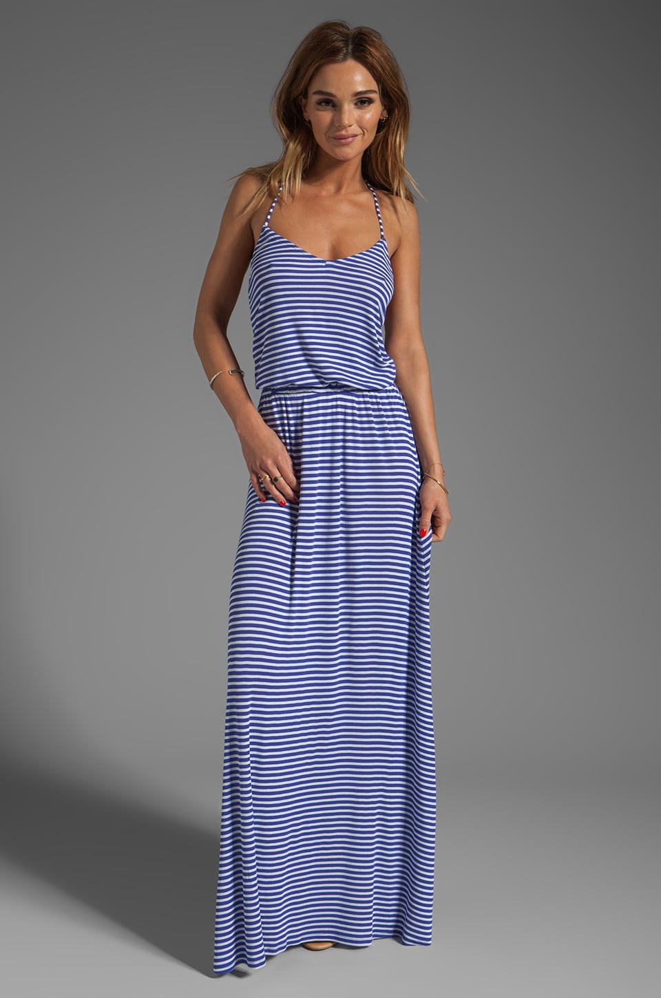 Rachel Pally Rib Graciella Dress in River Stripe