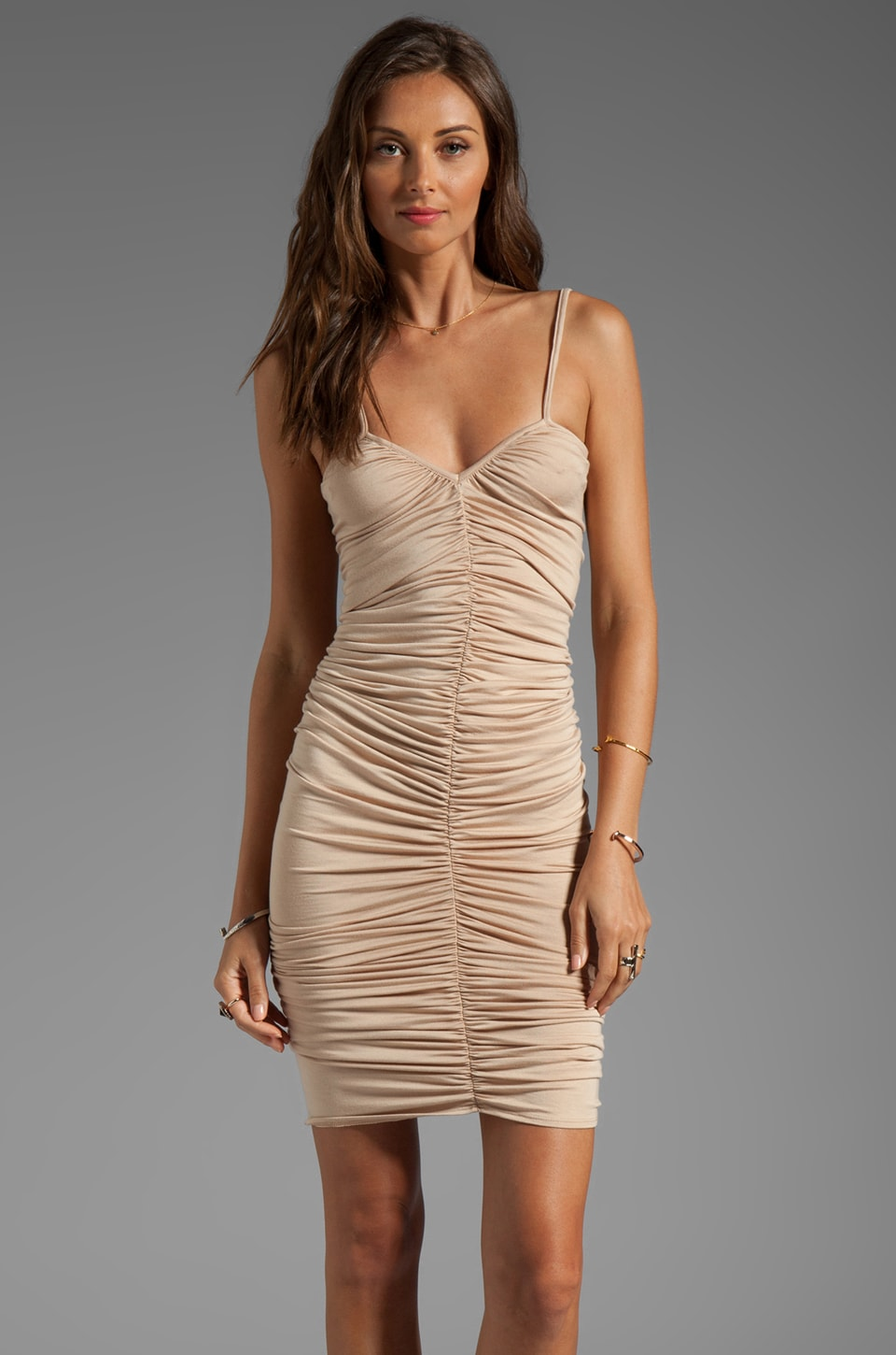 Rachel Pally Desiree V-Neck Dress in Bamboo